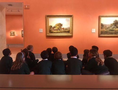 Salida de los alumnos de 4º de Primaria al Museo Thyssen