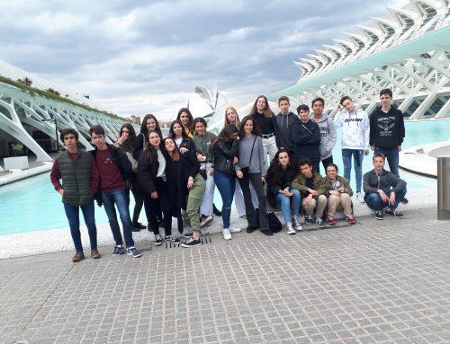 Viaje a Valencia de los alumnos de 3º de ESO