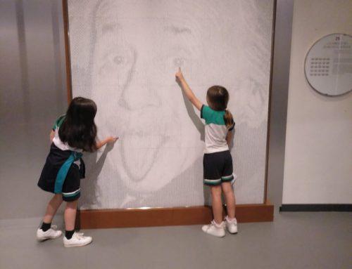 Los alumnos de 5º de Primaria en el Museo de Ciencia y Tecnología