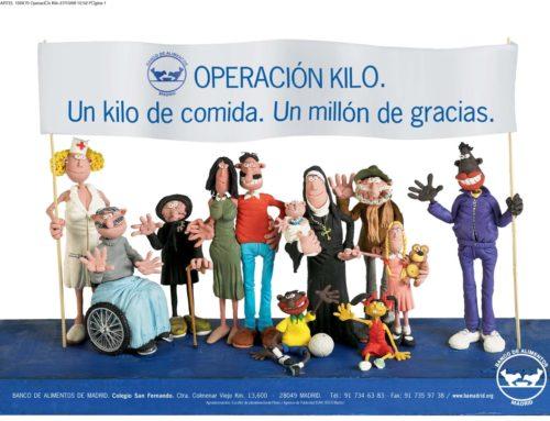 Campaña de Navidad para la «Operación Kilo»