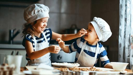 recetas para niños en cuarentena