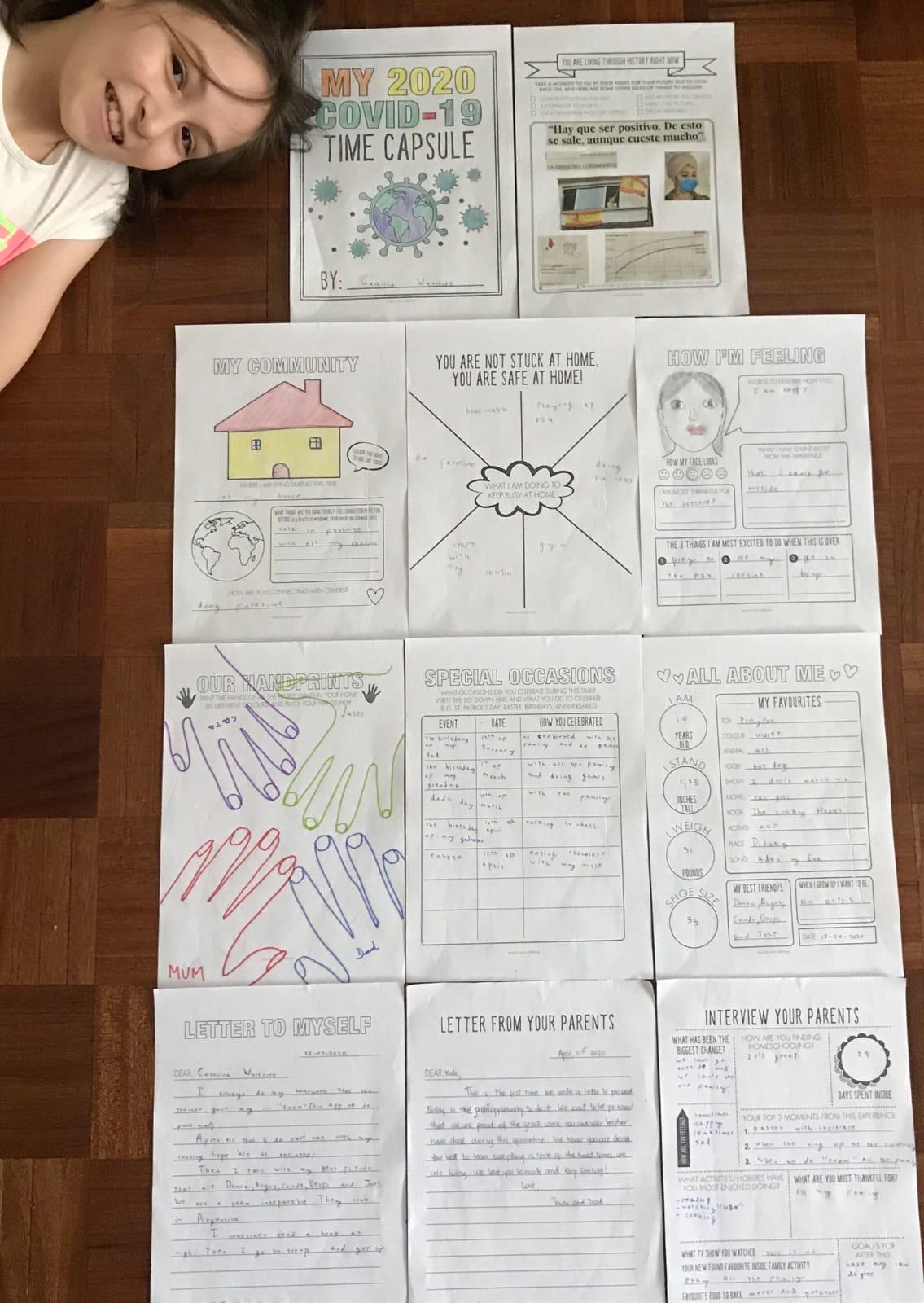 «Time Capsule Project» de los alumnos de 5º de Primaria