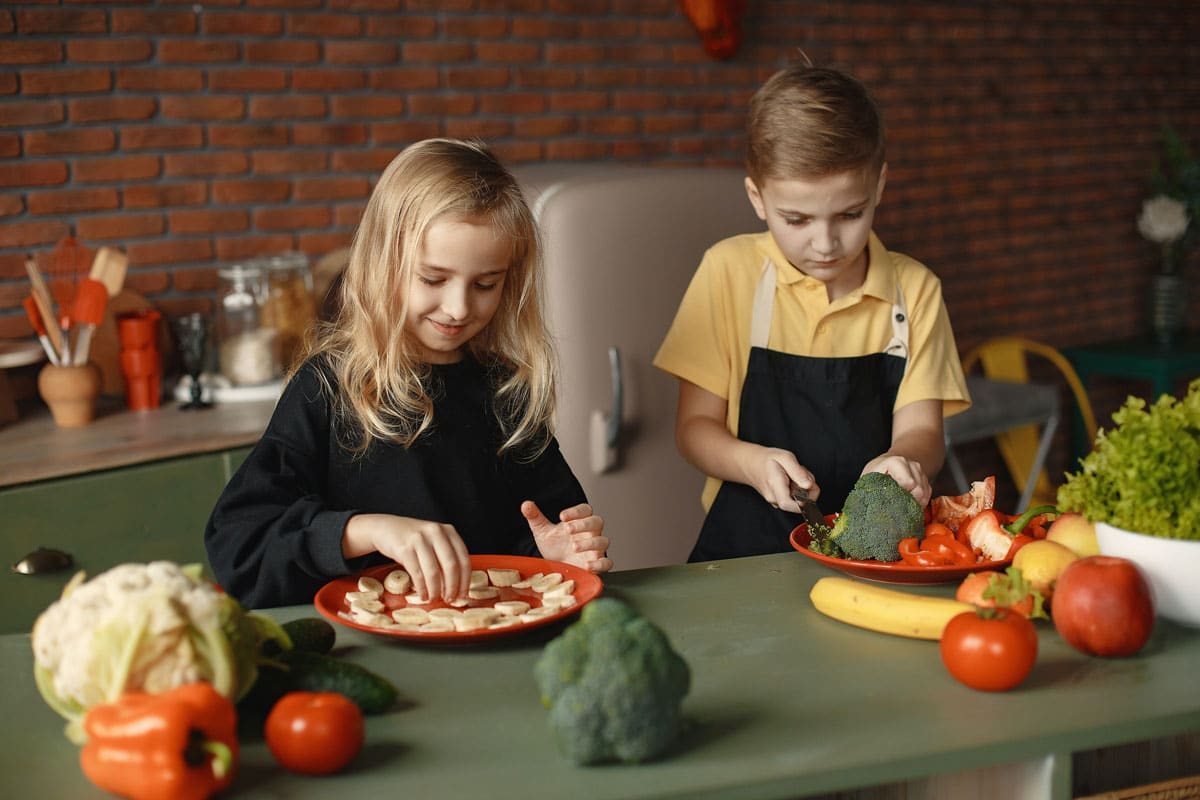 Recetas sanas para hacer con niños