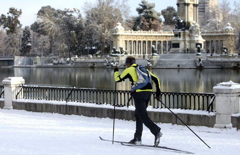 Diversión y deportes de nieve para niños en Madrid
