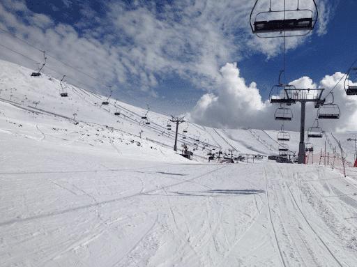 deportes y juegos en la nieve en madrid